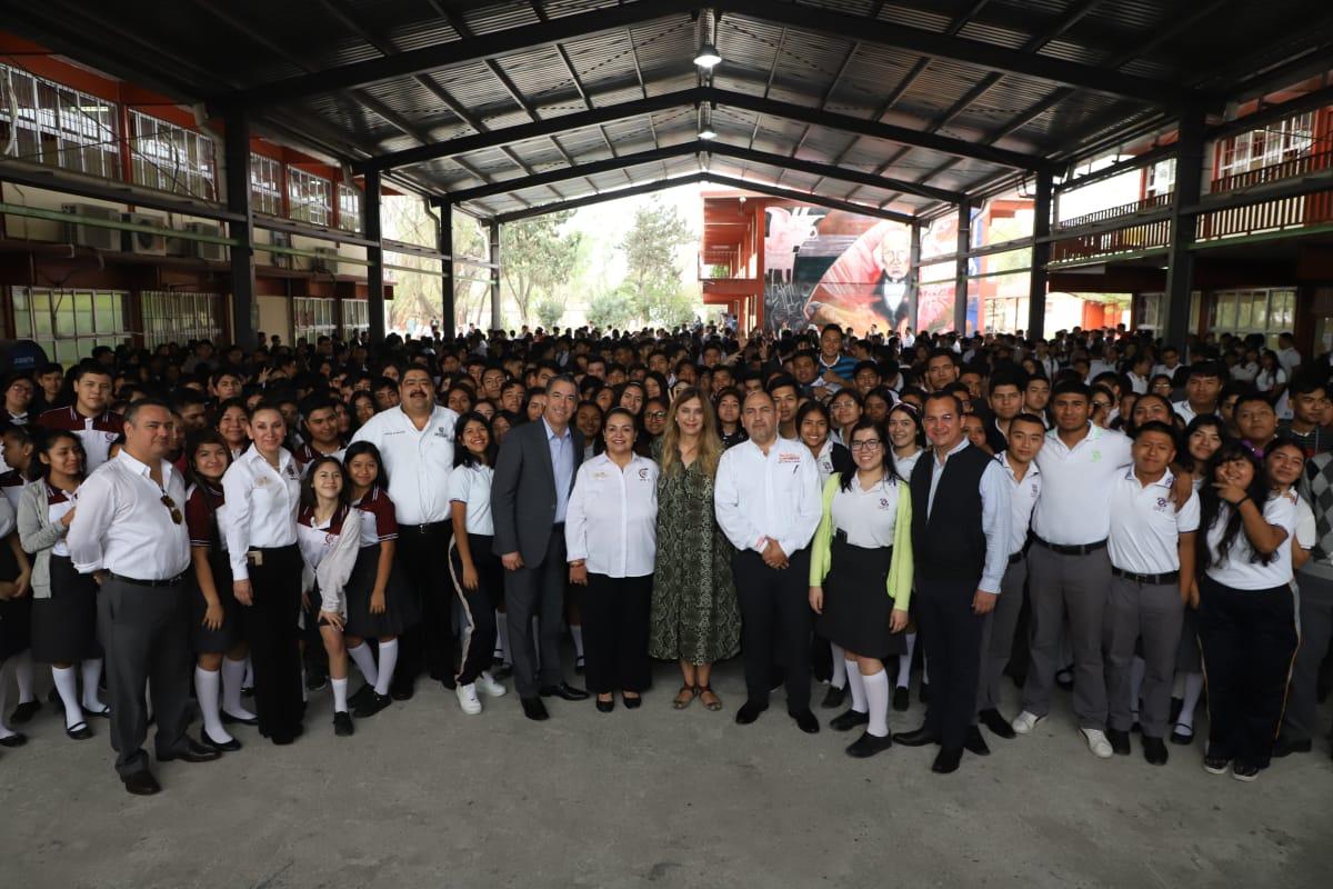 Tiene Alcaldesa de Reynosa fe en los estudiantes
