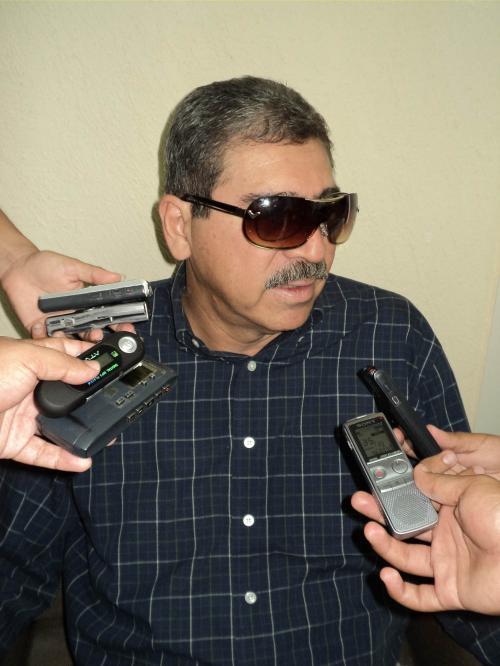 """""""Dios me acompaña, pero he tomado otras medidas"""": Armando Montelongo."""