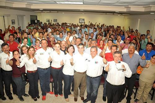 FTR-CTM fortalece campañas del PRI con su participación