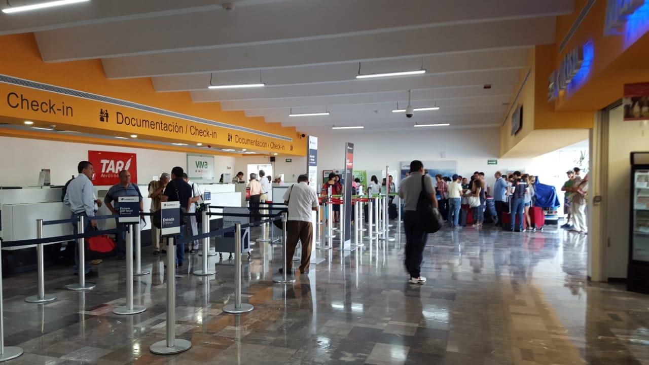 19 % de avance preliminar en obra de ampliación y remodelación del aeropuerto de Tampico