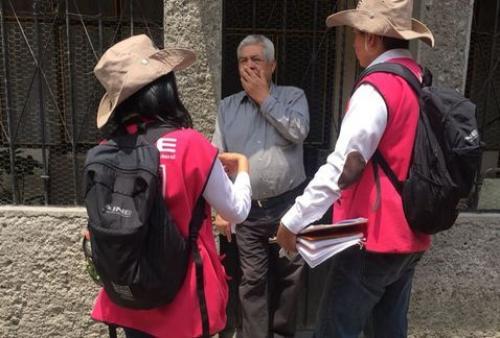 Visita INE 90% de ciudadanos insaculados en Tamaulipas