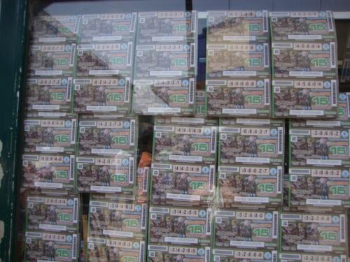 el mundo es loteria nacional:
