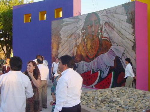 Exhiben 7 murales urbanos en Matamoros