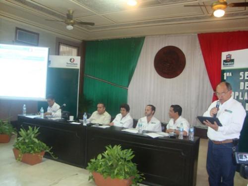 Se reunió en Tampico  el Consejo  de Planeación para  el desarrollo municipal, presentan  obras  a desarrollar  en este año  2011