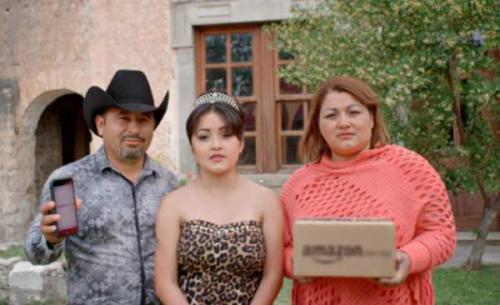 Rubí y sus papás vuelven a internet de la mano de Amazon