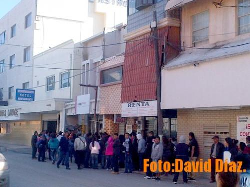Saturados Y Largas Filas En M Dulos Del Ine En Reynosa