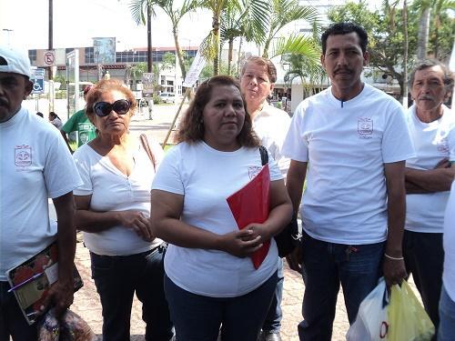 Sindicato liberal en Madero retira el plantón