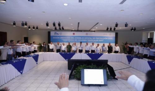 Protección civil, política que ayuda a salvar vidas: RZB