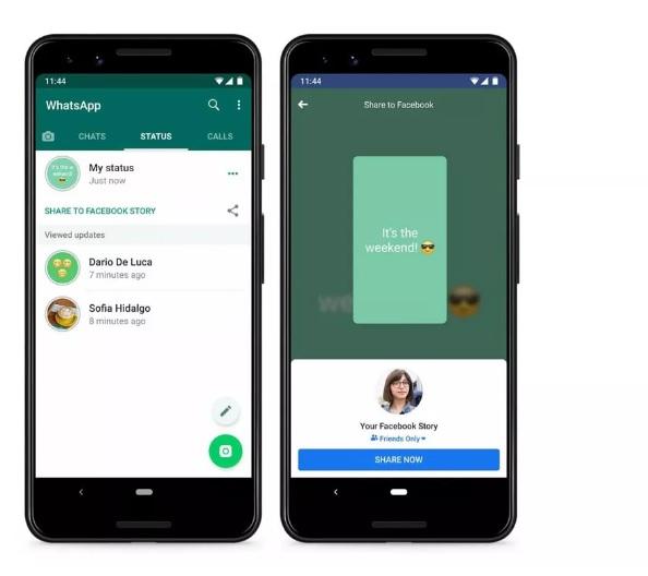 Whatsapp Te Permitirá Compartir Tu Estado En Tus Historias