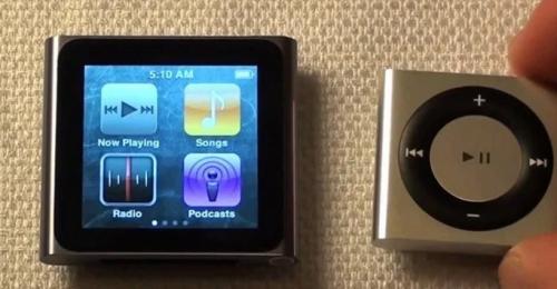 Apple se despide del iPod Shuffle y Nano