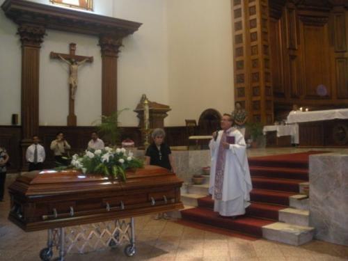 Celebran misa de Américo Villarreal