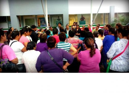 Antorcha Campesina cierra SEDATU en demanda de apoyos para vivienda
