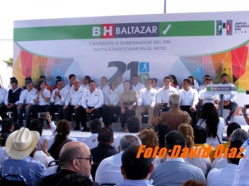 Baltazar Hinojosa le apuesta a la salud y la seguridad