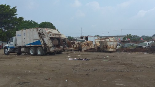 Sin contratiempos la recepción de los desechos en el relleno sanitario de Tecmed en Altamira