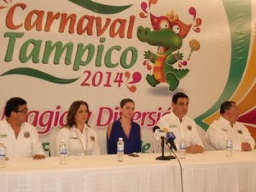 La actriz Livia Brito, madrina del Carnaval Tampico 2014 firmará mañana autógrafos a sus fans
