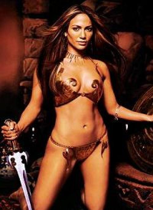 Jennifer Lpez y sus 15 mejores looks al desnudo - La