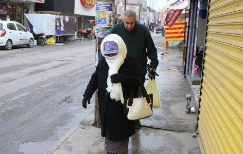 Emiten alerta amarilla por descenso de temperatura en Juárez