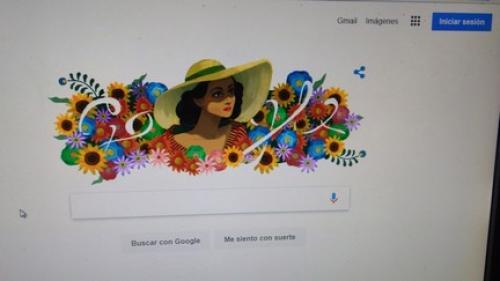 Google homenajea a Dolores Del Río en nuevo doodle