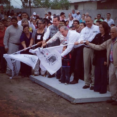Inician obras de agua en Reynosa