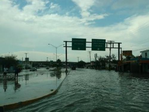 Lluvias Fuertes en Michoacán por Tormenta Tropical Jova