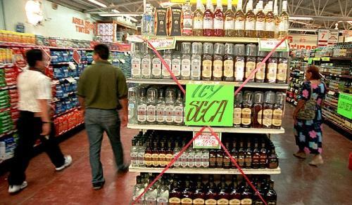 Se suspende la venta de alcohol por elecciones
