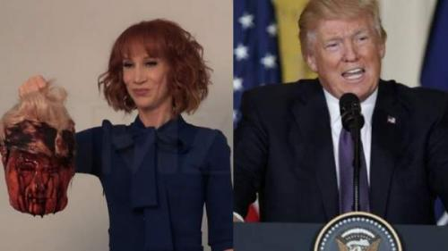 No tengo miedo de Donald Trump: Kathy Griffin