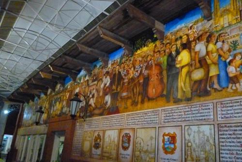 Reinauguran Mural con Historia de Reynosa