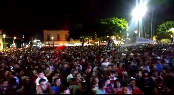 Más de 7 mil personas se han reunido para dar el grito en Matamoros