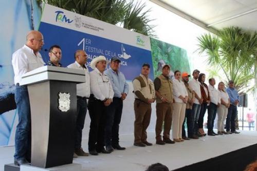 Inauguran primer Festival de la Paloma Ala Blanca en Tamaulipas