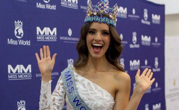 López Obrador se reunió con Miss Mundo mexicana