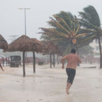 "Tormenta tropical ""Beta"" cerca de Tampico"