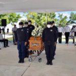 Despiden con honores al Delegado de la Policía Estatal en Reynosa