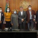 Morenistas tamaulipecos aspirantes a candidaturas se reúnen con Ricardo Monreal