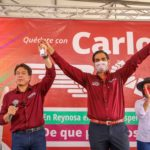 Celebra Mario Delgado Presidente de MORENA próximo triunfo de Carlos Peña Ortiz