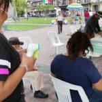 Tamaulipas Diversidad Vihda Trans A.C. reactivó sus acciones de prevención contra el VIH en plazas públicas