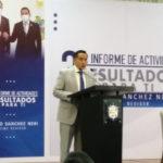 Rindió el regidor Alberto Sánchez Neri su tercer informe de actividades