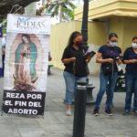 Realizan campaña 40 días por la Vida, oran por el fin de aborto y de la pandemia