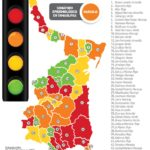 En amarillo la ciudad con tendencia a la baje en positivos: SST