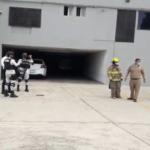 Por presunta amenaza de bomba evacuaron a trabajadores y usuarios de diversas dependencias