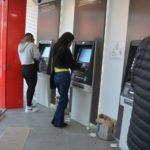 Ciudadanos inseguros en cajeros bancarios