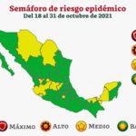 Salud Federal pasa a Tamaulipas al color verde